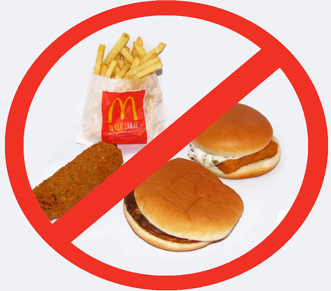 McDonald's advises staff not to eat fast food; hypocrite much?