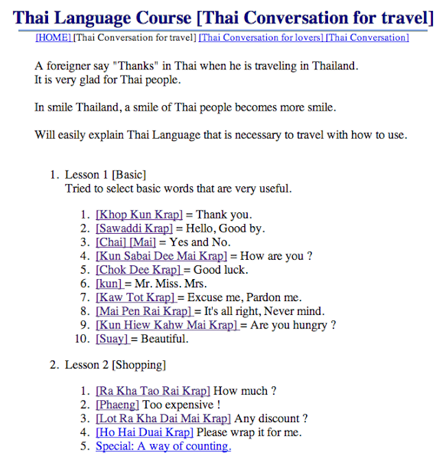 Want to learn Thai and speak like a pro? Heres a handy ...