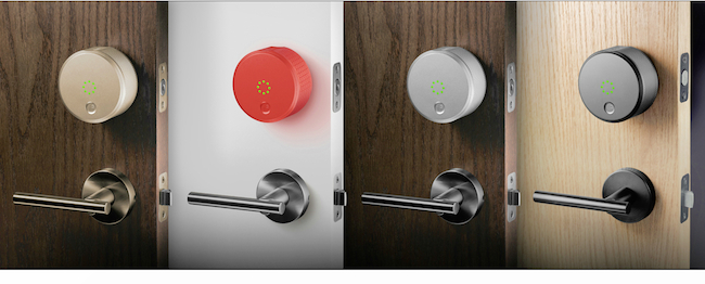 August Smart Lock Logo The $199 August Smart Lock is