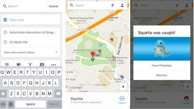 how to download pokemon on google maps