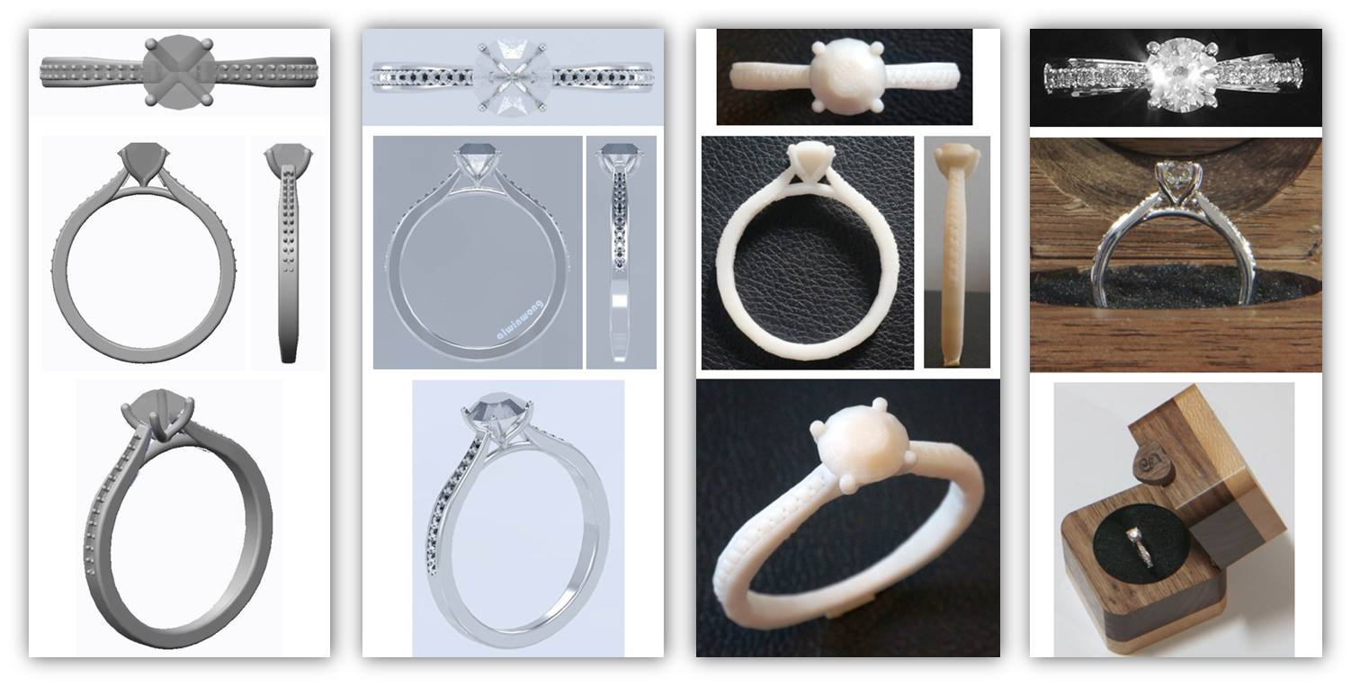 This Guy Used 3d Printing To Specially Design A Ring For