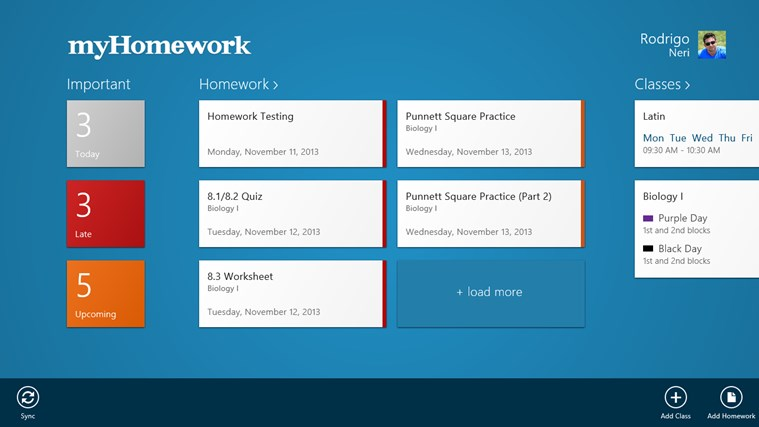 How to Use the my homework app - YouTube