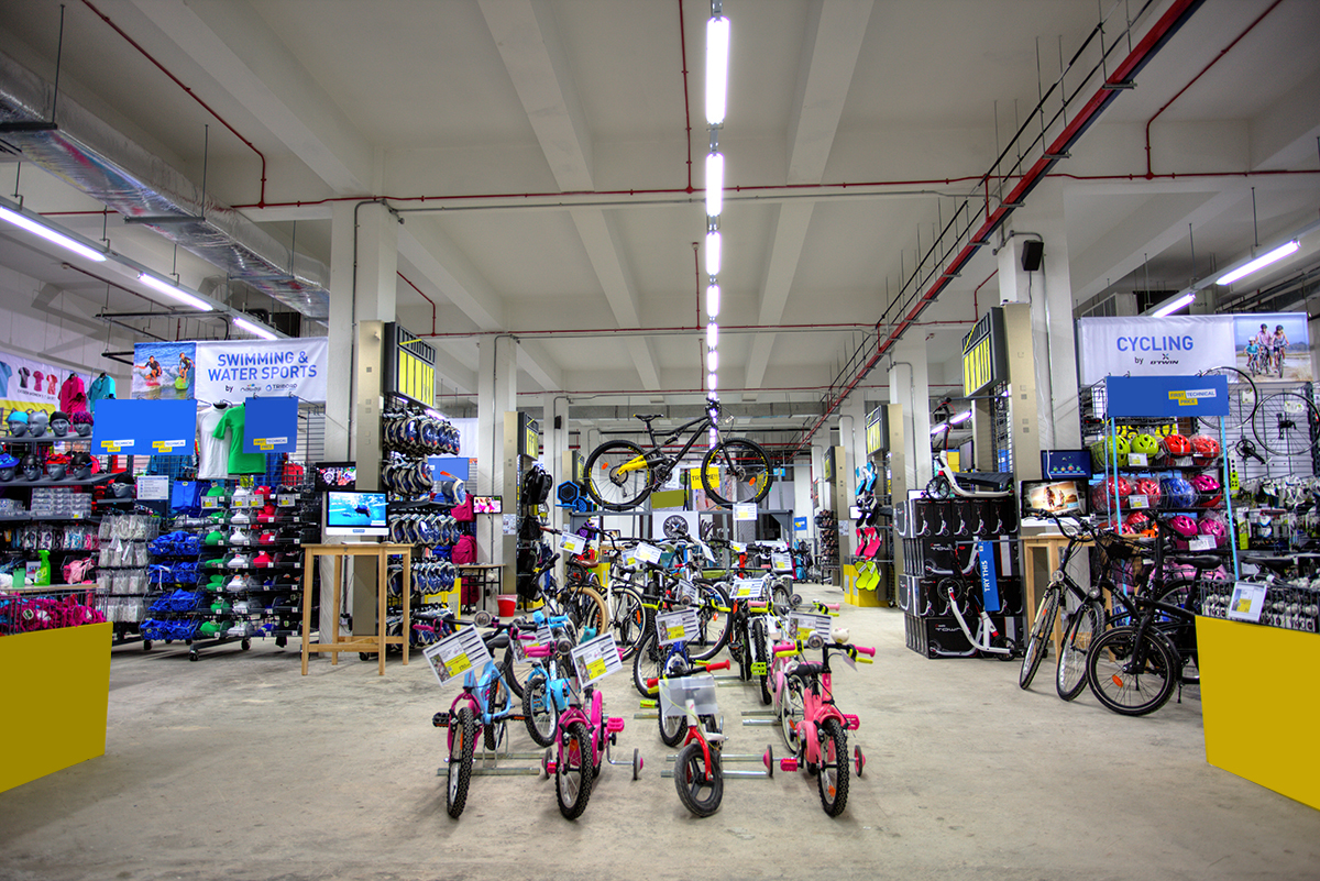 Decathlon Debuts Click-And-Mortar Experiential Space For