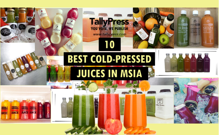 10 Best Cold-Pressed Juices In Malaysia