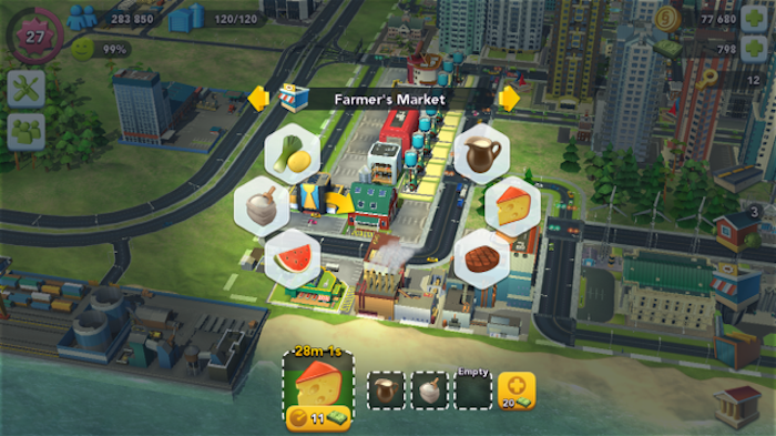 Simcity Buildit Seasons Exclusive Buildings